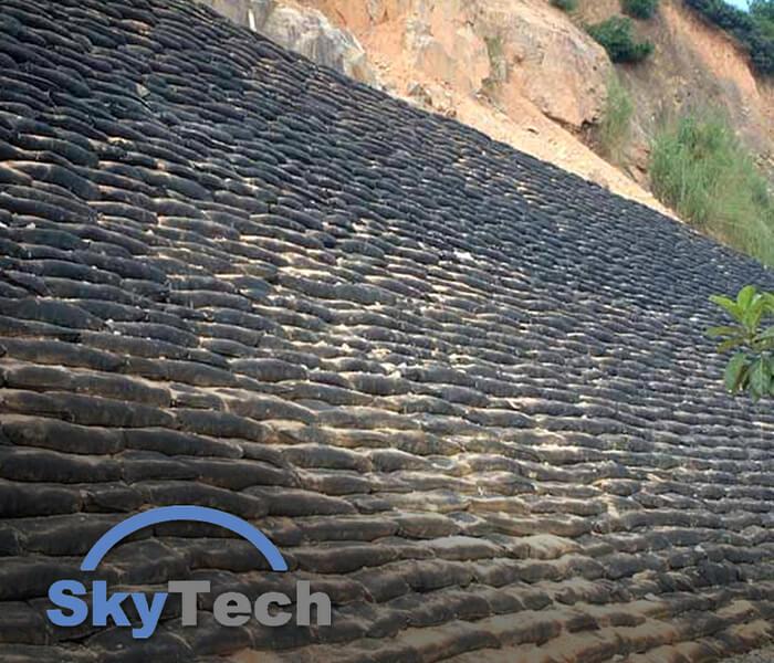 Sri lanka, Geosynthetics, Skytech Engineering, geotextiles, geobags
