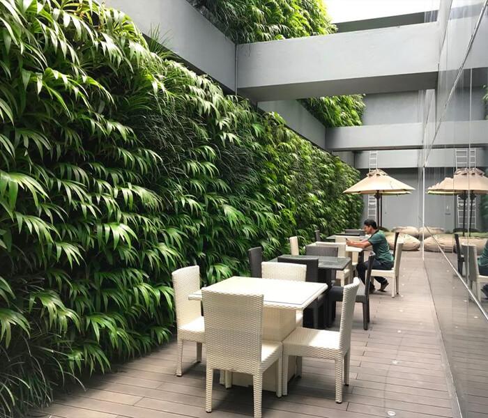 vertical garden, Orion City, sri lanka, Skygrow, Skytech Engineering, Elyon Hotel