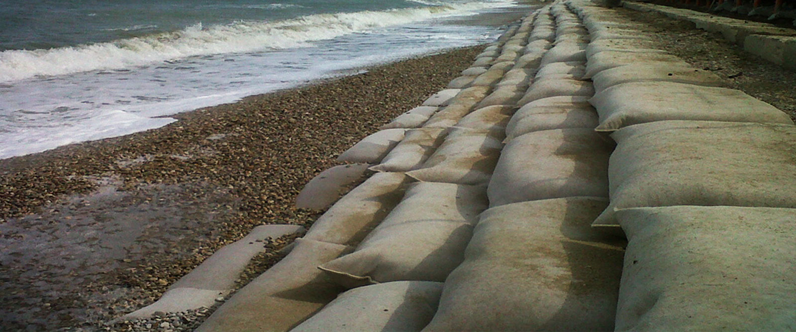 WAVEPLUS sea erosion control sand bags